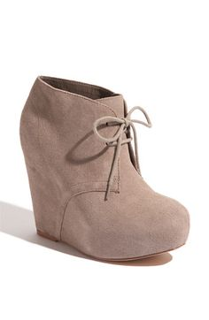 Steve Madden 'Annnie' Wedge Bootie.. i have these & loveee them.. just dont have much to wear with them :(