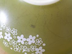 how to clean vintage pyrex- you know I had to pin this one!!