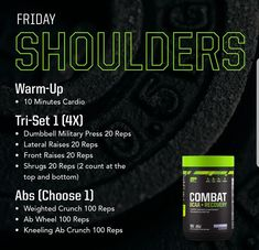 Fit Board Workouts, Gym Workouts, At Home Workouts, Shoulder Routine, Shoulder Workout, Body Weight Training, Biceps Training, Training Exercises, Musclepharm Workouts