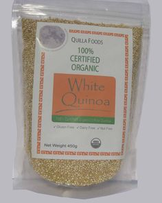 ORGANIC QUINOA WHITE SEED 450G GLUTEN AND ALLERGEN FREE, FREE SHIPPING For $16.95 you can order this on Ebay delivered to you for free. Also can combine with other retail packets and get combined shipping discounts. For example, if you buy one product worth $10 and another product worth $12, then we will charge $18.50, saving you $3.50 off the final value. Please let us know if you wish to combine your orders.