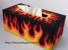 Kosucas : Funda caja de pañuelos.