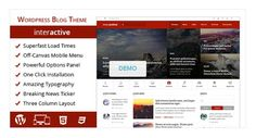 Interactive Theme for Blog & Magazine