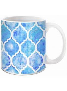 Taza Mosaico Azul