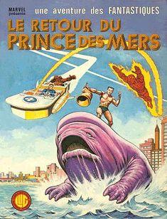 Fantastiques (Une aventure des) -21- Le retour du Prince des Mers