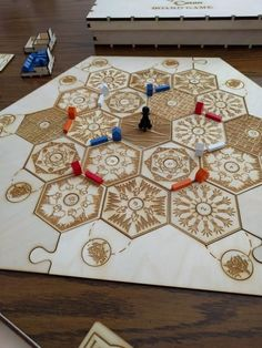 17 Classy Fuckin' Board Games That Would Make Great Wedding Gifts Wooden Board Games, Wood Games, Game Boards, Catan Board Game, Settlers Of Catan, Diy Cutting Board, Great Wedding Gifts, Perfect Wedding, Wooden Storage Boxes
