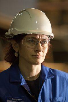 Une collaboratrice de la centrale de Dinorwig (ingénieur électricien) #ENGIE #Metier Découvrez nos engagements sur la diversité de nos équipes en cliquant sur la photo