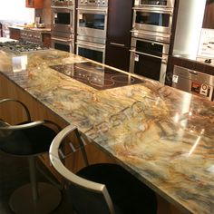 Love this Fusion Granite...has to be the most gorgeous granites we've ever installed for anyone.