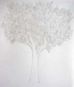 learn to draw a tree with leaves - pencil Tree Sketches, Learn To Draw, Pencil Drawings, Creations, Leaves, Learning, Crafts, Inspiration, Halloween