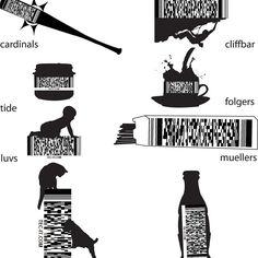 Новости #дизайштрихкод от Elizabeht Ramirez #Scan4me #штрихкод #barcode