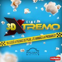 Si te encanta el 3D tenés que probarlo XTREMO. #PalmasDelPilar #3Dxtremo