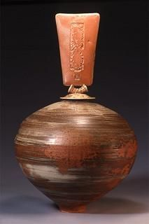 Wood fired pottery by Tea Duong, my favorite potter!