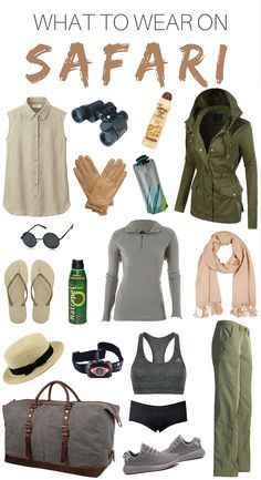 WHAT TO WEAR ON SAFARI. I visited Kruger National Park in South Africa during the winter months. This safari packing list will help you bring all the necessary items. Let's start packing for your trip!
