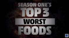 Fat Guys in the Woods: Top 3 Worst Foods. Tune in Sunday's at 9pm ET on The Weather Channel.