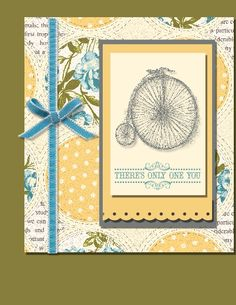 Only one by Markey - Cards and Paper Crafts at Splitcoaststampers