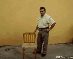 Funny GIF: Chair - www.gifsec.com
