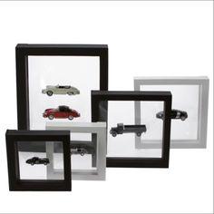 Safe-3D-Schweberahmen-versch-Groessen-nach-Wahl-in-schwarz-oder-weiss-Top-Preis