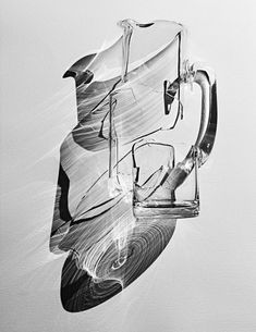COPPI BARBIERI Glass Photography, Shadow Photography, Reflection Photography, Object Photography, Dark Photography, Still Life Photography, Abstract Photography, Black And White Photography, Chiaroscuro Photography