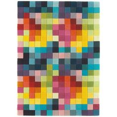 The Funk Rug (Multi) - View our rugs online at Barker and Stonehouse