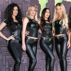 Leather Pants Outfit, Leather Dresses, Sexy Outfits, Girl Outfits, Monster Energy Girls, Promo Girls, Dirt Bike Girl, Leder Outfits, Grid Girls