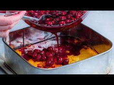 Kevés kalória és csodás ízvilág. Habos sütemény meggyes lappal, mindig tökéletes - YouTube Cherry On Top, Cake Toppings, Minion, Chocolate Fondue, Desserts, Youtube, Cherries, Pastries, Breads