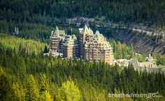 The Fairmont Banff Springs Hotel, Banff, Alberta, Canada