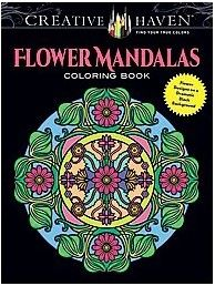 Creative Haven Flower Mandalas ( Creative Haven Coloring Books) (Paperback)