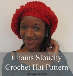 Chains Slouchy Hat Sedruola Maruska