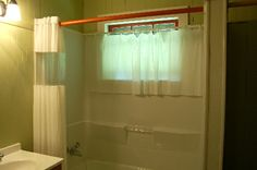Water Proof Roman Shade For Shower Window From House To Home In