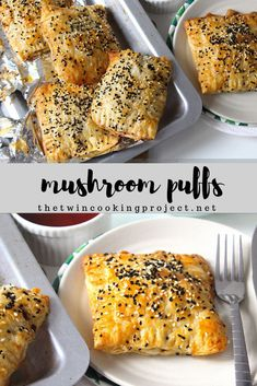 Mushroom Puffs Mushroom Puffs,Puff pastry Easy flaky mushroom puffs appetizers and drink pastry recipes cabbage rolls recipes cabbage rolls polish Spinach Puff, Puff Recipe, Mushroom Puff Pastry Recipe, Recipes With Puff Pastry, Pastries Recipes, Savory Pastry, Puff Pastry Appetizers, Vegan Recipes, Cooking Recipes