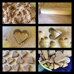 DIY Dog Treats with two ingredients, baby food and flour
