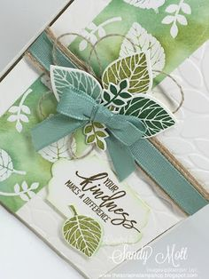 The Scrap n' Stamp Shop: THOUGHTFUL BRANCHES - Your Kindness Makes a Differ...