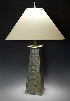 Mission Lamp: Jim and Shirl Parmentier: Ceramic Table Lamp | Artful Home, $595