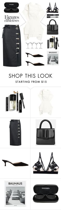 """""""Unbenannt #772"""" by fashionlandscape ❤ liked on Polyvore featuring Bobbi Brown Cosmetics, Rick Owens, Altuzarra, Manolo Blahnik, For Love & Lemons, Chanel and Christian Dior"""