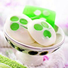 Make your own Shamrock Soap!