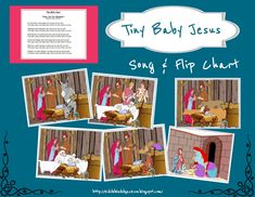 Tiny Baby Jesus Flip Chart, Song & More