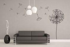 (3066n) Nálepka na stenu - Púpava | ARTSABLONY.SK