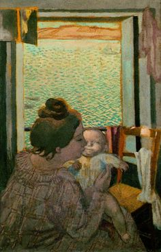 The Athenaeum - Motherhood at the Window (Maurice Denis - )