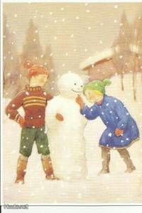 Postcard illustration by Rudolf Koivu Finland