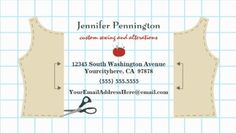 Cut Out Sewing Pattern Grid Sewing and Alterations Business Cards http://www.zazzle.com/fun_sewing_and_alterations_business_card_template-240771965875748633?design.areas=%5Bbusiness_front_horz%2Cbusiness_back_horz%5D&rf=238835258815790439&tc=GBCSewing1Pin