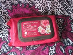 Whats Inside Your Beauty Bag?: Morgan Miller Facial Cleansing Wipes Rose & Chamom...
