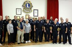 Marrero Lions Club honors, police, firefighters, first responders with free lunch.