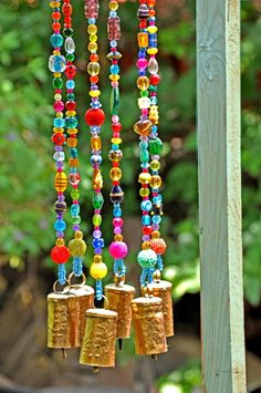 Colorful Wind Bells will load you with good energies, Unique Wind Chimes will bring your home and soul good vibes, Bohemian sun catcher, Diy Abschnitt, Mobiles, Carillons Diy, Homemade Generator, Diy Generator, Diy Wind Chimes, Homemade Wind Chimes, Gypsy Decor, Bohemian Decor, Bohemian Design