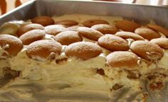 Best Banana Pudding ever - nilla wafers, vanilla pudding jazzed up with sweetened condensed milk and cool whip (sorry, I use real whipped cream), and bananas - ahhhhhh!