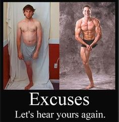 Excuses... Let's hear yours again. -- This is Joshua Sundquist, Paralympian/Speaker who lost his leg around age 9-10 due to a rare form of bone cancer.