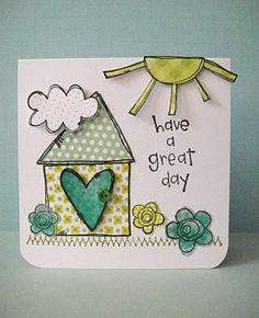 Greeting card idea... Give a card for no reason!