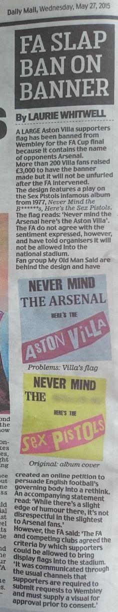 National Stadium, Fa Cup Final, Aston Villa, Cuttings, Plant Cuttings