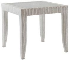 Mykonos Outdoor End Table. Product in photo is from www.wellappointedhouse.com
