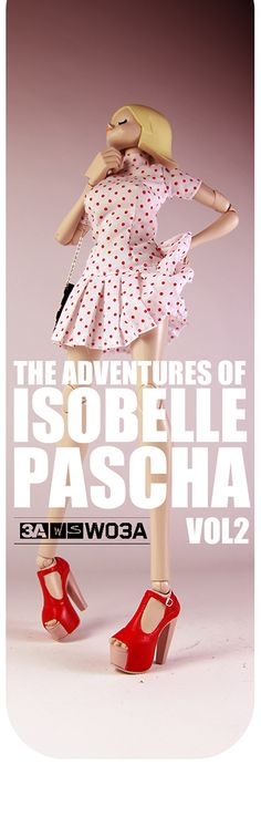 The Adventures of Isobelle Pascha Volume 2 Starts Soon!   #threeA #AshleyWood #WOIP #FutureBambasale #artpiece #toy #actionfigure #toyplanet #toycommunity #toys #hobby #toycollector #art #collectibles #vinyl #designertoys #toyphoto #toyphotography #collecting #photography #photo #toylife #toystagram #panda #bears #cosplay #toypops #dolls #artdoll #fashion