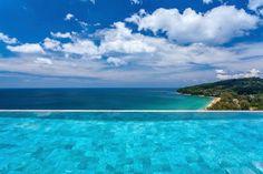 #Villa Paradiso #infinity pool overlooking the gorgeous #Naithon #Beach. #luxuryhomes #luxurytravel #luxuryliving