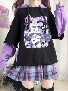 Swaggy Outfits, Edgy Outfits, Teen Fashion Outfits, Cute Casual Outfits, Pretty Outfits, Pastel Goth Outfits, Pastel Goth Fashion, Kawaii Fashion, Pastel Goth Style